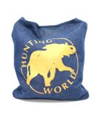 HUNTING WORLD(ハンティング・ワールド)の古着「デニムショルダーバッグ」|インディゴ