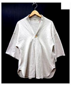 KAPITAL(キャピタル)の古着「天竺カットソー」 ベージュ