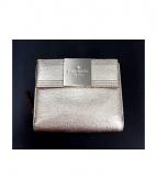 Kate Spade(ケイト スペード)の古着「2つ折り財布」|シャンパンゴールド