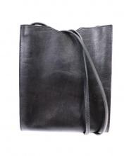 HERMES(エルメス)の古着「レザーショルダーポーチ」|ブラック