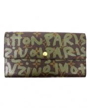 LOUIS VUITTON(ルイ・ヴィトン)の古着「長財布」|ブラウン