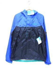 Columbia(コロンビア)の古着「トレッキングジャケット」|ブルー×ブラック