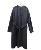 KBF(ケイビーエフ)の古着「ガウンコート」|ブラック