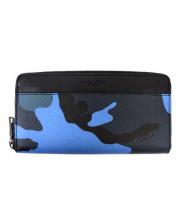 COACH(コーチ)の古着「長財布」|ブラック×ブルー