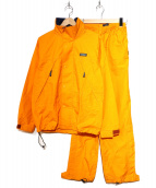 AIGLE(エーグル)の古着「セットスーツ」 オレンジ
