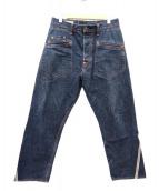 EVISU(エビス)の古着「大坂刺繍デニムパンツ」|インディゴ
