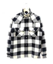 DENIME(ドゥニーム)の古着「ウエスタンチェックジャケット」|アイボリー×ブラック