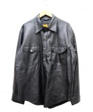 DEGNER(デグナー)の古着「レザージャケット」|ブラック