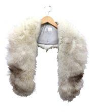 SAGA FOX(サガフォックス)の古着「フォックスファーティペット」|ホワイト