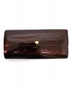 LOUIS VUITTON(ルイ・ヴィトン)の古着「長財布」|パープル