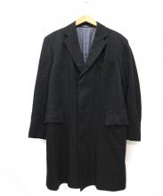 POLO RALPH LAUREN(ポロ ラルフ ローレン)の古着「チェスターコート」|ブラック
