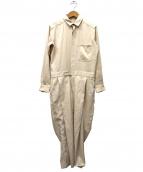 6(ROKU) BEAUTY&YOUTH(ロク ビューティアンドユース)の古着「オールインワン」|ベージュ