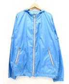 MONCLER(モンクレール)の古着「ナイロンジャケット」|ブルー