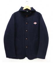 DANTON(ダントン)の古着「丸襟ウールモッサジャケット」