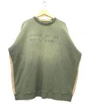 KAPITAL KOUNTRY(キャピタル カントリー)の古着「切替スウェット」