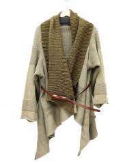 KAPITAL(キャピタル)の古着「ベルト付きウールコットンカーディガン」