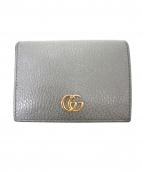 GUCCI(グッチ)の古着「2つ折り財布」|グレー