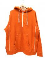 UNFIL(アンフィル)の古着「プルオーバーパーカー」|ブラウン