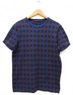 LOUIS VUITTON(ルイ・ヴィトン)の古着「Tシャツ」|ブラウン×ブルー