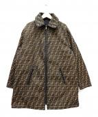 FENDI(フェンディ)の古着「リバーシブルジップコート」