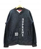Supreme(シュプリーム)の古着「10ロゴスナップボタンスウェットジャケット」
