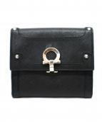 Salvatore Ferragamo(サルヴァトーレ・フェラガモ)の古着「3つ折り財布」