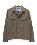 Paul Smith JEANS(ポールスミス ジーンズ)の古着「ウールジャケット」|ブラウン