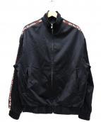 REPRESENT(リプレゼント)の古着「袖ラインジップジャケット」|ブラック