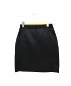 LANVIN(ランバン)の古着「シルク混ボンディングスカート」
