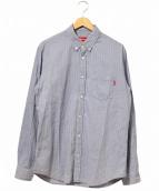 Supreme(シュプリーム)の古着「ボタンダウンシャツ」 ネイビー