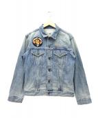 AVIREX(アヴィレックス)の古着「空挺刺繍デニムジャケット」