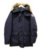 CANADA GOOSE(カナダグース)の古着「BROOKFIELD PARKA」|ブラック