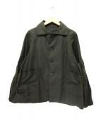 KATO(カトー)の古着「オイルドジャケット」|カーキ