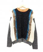 GLAMB(グラム)の古着「Andy knit」|ブラック