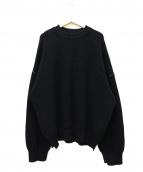 UNUSED(アンユーズド)の古着「5G Crew Neck Knit」
