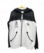 adidas(アディダス)の古着「ジップパーカー」