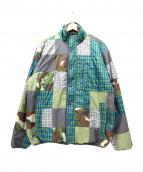stussy(ステューシー)の古着「リバーシブルジャケット」|グリーン×グレー