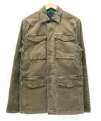 DENHAM(デンハム)の古着「ジェームスチノジャケット」 ブラウン