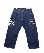 EVISU(エヴィス)の古着「カモメ刺繍デニムパンツ」|インディゴ