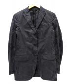 CELINE(セリーヌ)の古着「テーラードジャケット」|ブラック