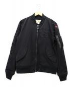 AVIREX(アヴィレックス)の古着「ストレッチMA-1ジャケット」