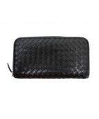 BOTTEGA VENETA(ボッテガ・ヴェネタ)の古着「長財布」|ブラック