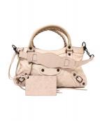 BALENCIAGA(バレンシアガ)の古着「エディターズバッグ」|ピンク