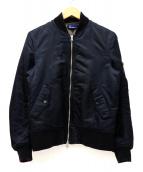 FRED PERRY(フレッド ペリー)の古着「MA-1ジャケット」|ブラック