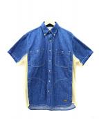 orSlow(オアスロウ)の古着「別注デニムフィッシングシャツ」|インディゴ