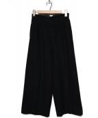 tricot COMME des GARCONS(トリココムデギャルソン)の古着「90'S2タックウールパンツ」 ブラック