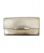 Cartier(カルティエ)の古着「長財布」|シルバー