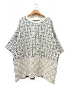 KAPITAL(キャピタル)の古着「道着刺し子天竺Tシャツ」 ホワイト