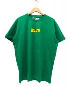 AFFIX(アフィックス)の古着「プリントTシャツ」|グリーン
