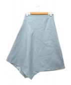 ADORE(アドーア)の古着「ウールアムンゼンスカート」|ブルー